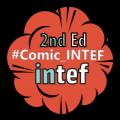 "Imagen insignia NOOC ""Creating a comic (2nd edition)"" - #Comic_INTEF"