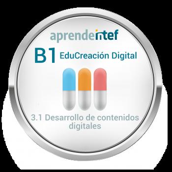 Insignia Itinerario EduCreación Digital