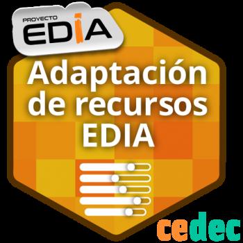 Creación y publicación de nuevas versiones de recursos educativos abiertos del proyecto EDIA.