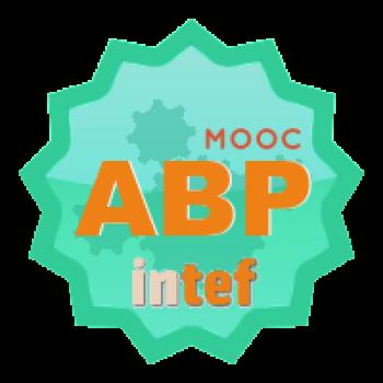 """Imagen insignia MOOC """"Aprendizaje Basado en Proyectos (4ª edición)"""" - #ABPMOOC_INTEF"""""""