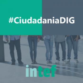 """Imagen insignia NOOC """"Ciudadanía digital"""" - #CiudadaníaDIG"""
