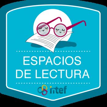 Imagen insignia Curso tutorizado Espacios de lectura. Edición marzo 2019