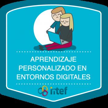 Aprendizaje personalizado en entornos digitales. Edición septiembre 2018