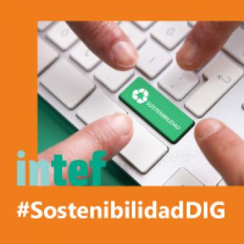 """Imagen insignia NOOC """"Sostenibilidad digital (2ª edición)"""" - #SostenibilidadDIG"""