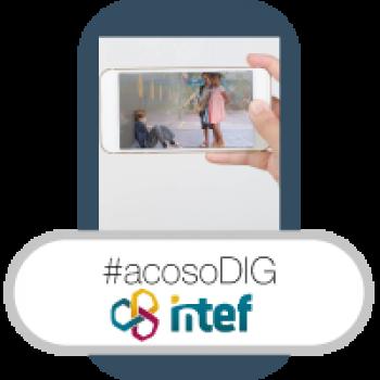 """Imagen insignia NOOC """"Ciberacoso (1ª edición)"""" - #acosoDIG"""