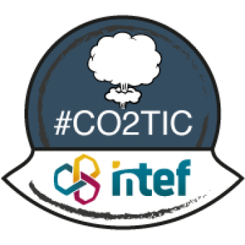 "Imagen insignia NOOC ""CO2 TIC (2ª edición)"" - #CO2TIC"