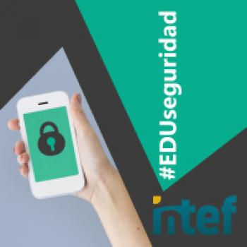 """Imagen insignia NOOC """"Seguridad en tus dispositivos (3ª edición)"""" - #EDUseguridad"""