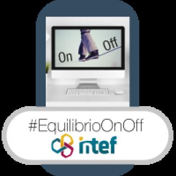 """Imagen insignia NOOC """"On/Off. Disfrutando en equilibrio todos tus entornos (2ª edición)"""" - #EquilibrioOnOff"""