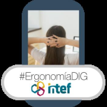 """Imagen insignia NOOC """"Ergonomía digital (3ª edición)"""" - #ErgonomíaDIG"""