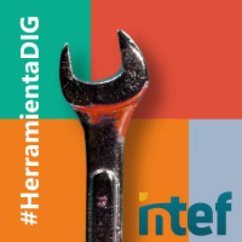 """Imagen insignia NOOC """"Exprime tus herramientas digitales favoritas (3ª edición)"""" - #HerramientaDIG"""
