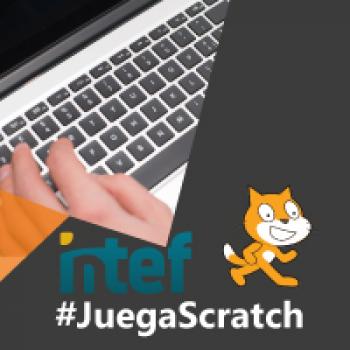 Imagen insignia NOOC Programa un juego educativo con Scratch (3ª edición) - #JuegaScratch