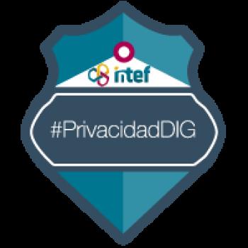 Imagen insignia NOOC Privacidad en la red (1ª edición) - #PrivacidadDIG