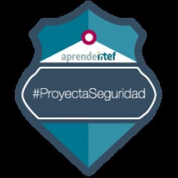 Imagen insignia NOOC Diseño de proyectos educativos sobre seguridad en la red (1ª edición) - #ProyectaSeguridad