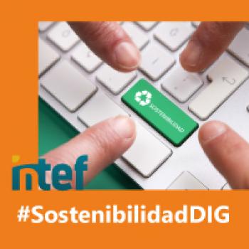 """Imagen insignia NOOC """"Sostenibilidad digital (3ª edición)"""" - #SostenibilidadDIG"""