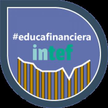 """Imagen insignia NOOC """"Importancia de la Educación Financiera"""" - #educafinanciera"""