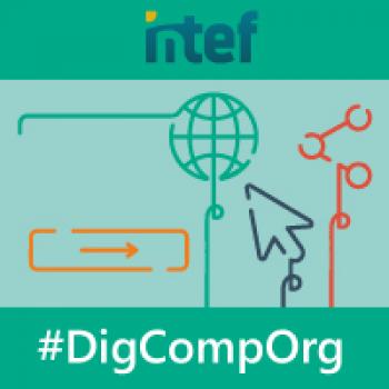 Imagen insignia MOOC Organizaciones Educativas Digitalmente Competentes (2ª edición) - #DigCompOrg