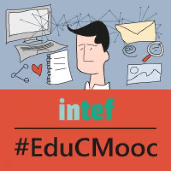 Insignia del MOOC Community Manager Educativo´ (2ª edición) - #EduCMooc