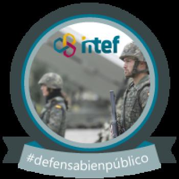 """Imagen insignia NOOC """"La defensa, un bien público"""" (1ª edición) - #defensabienpúblico"""