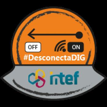 """Imagen insignia NOOC """"Herramientas sin conexión (2ª edición)"""" - #DesconectaDIG"""