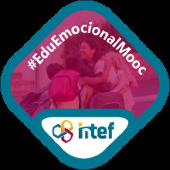 """Imagen insignia MOOC """"Habilidades para la vida y alfabetización emocional en contextos educativos (2ª Edición)"""" - #EduEmocionalMooc"""