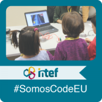 Imagen insignia NOOC Organiza una actividad para CodeWeek, la Semana Europea de la Programación - #SomosCodeEU