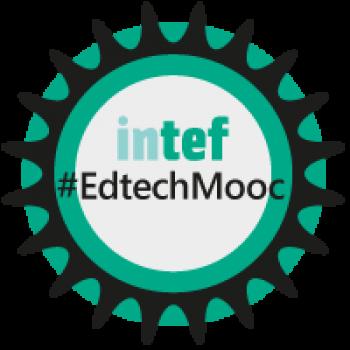 Insignia del MOOC «Liderazgo en tecnología educativa (1ª edición)» - #EdtechMooc
