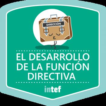 Insignia el Desarrollo de la Función Directiva ( Melilla). Edición marzo 2018.