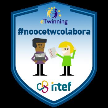 Imagen insignia NOOC Colabora en eTwinning (1ª edición) - #noocetwcolabora