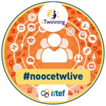 "Imagen insignia NOOC ""eTwinning Live (3ª Edición)"" - #noocetwlive"