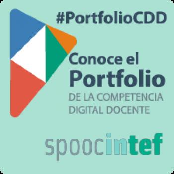 """SPOOC """"Conoce el Portfolio de la Competencia Digital Docente""""  #PortfolioCDD"""