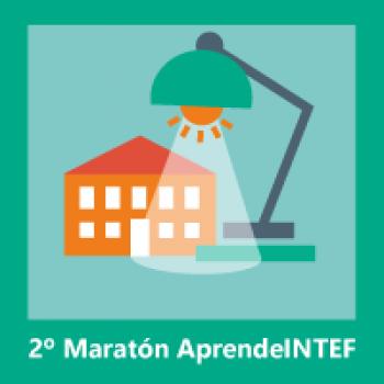 Insignias del 2º Maratón web ´El centro como protagonista´