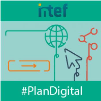 """Imagen insignia MOOC """"Diseña el Plan Digital de tu centro (2ª Edición)"""" - #PlanDigital"""